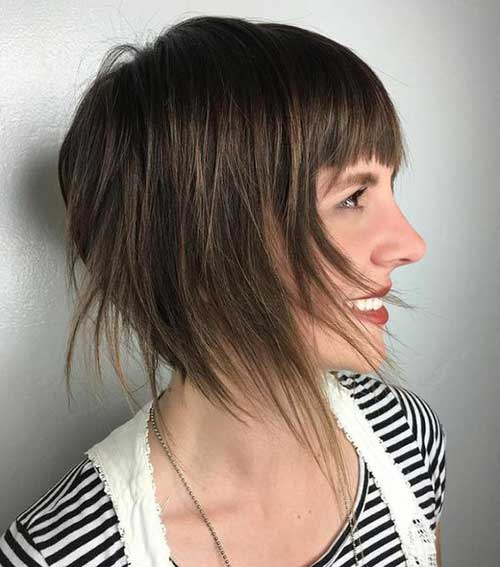 Short Layered Haircuts for Women-7