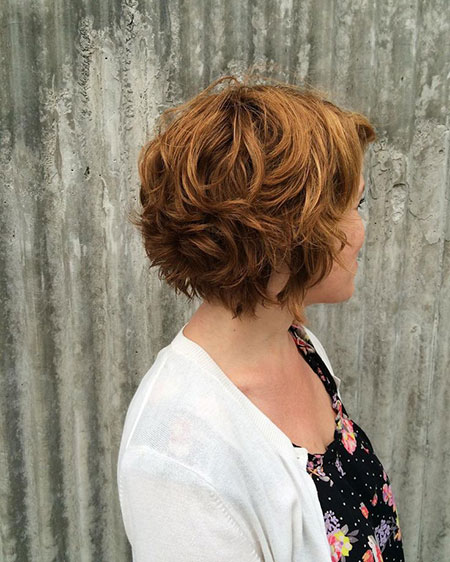 Haircuts for Short Wavy Hair, Short Wavy Layered Haircuts