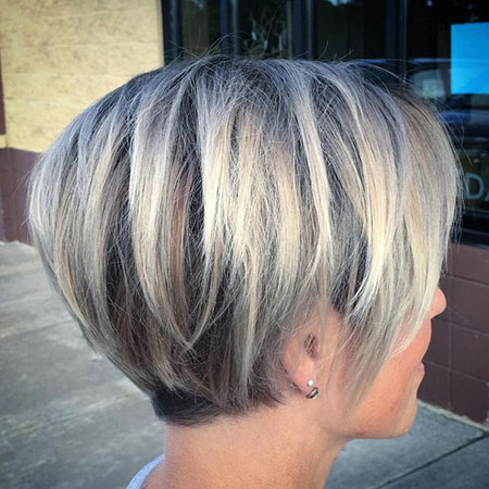 Short Layered Haircuts for Fine Hair, Bob Fine Pixie Layered