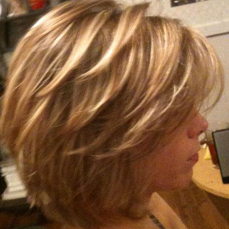 Short Layered Hairtyles, Layered Bob Hair Blonde