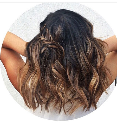 Hair Balayage Highlights Brown