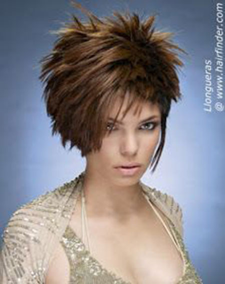 Short Hair Cute Spiky