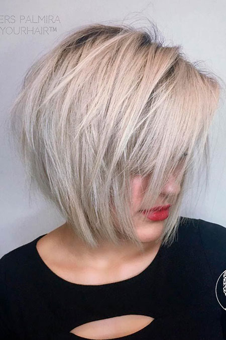 Choppy Short Straight Silver