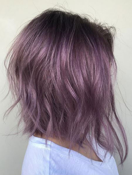 Purple Hair Color Violet