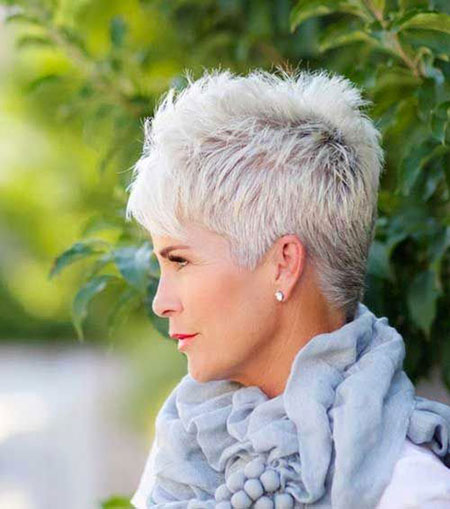 Short Older Women Haircuts