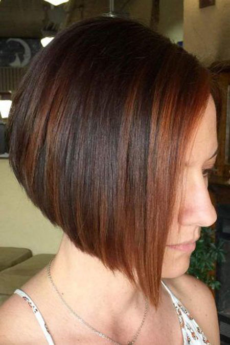 Bob Layered Haircuts Brunette