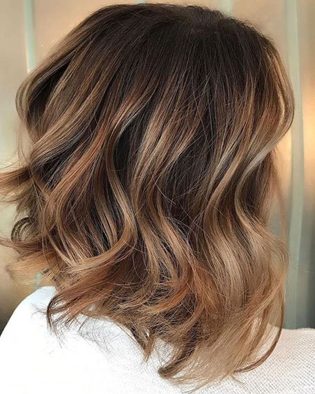 Hair Balayage Color Highlights