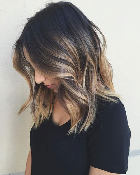 Balayage Hair Color Length