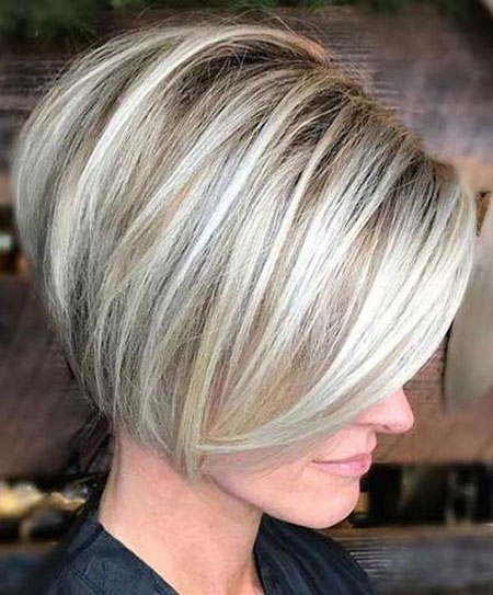 Bob Balayage Short Blonde