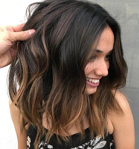 Balayage Caramel Hair Brunettes