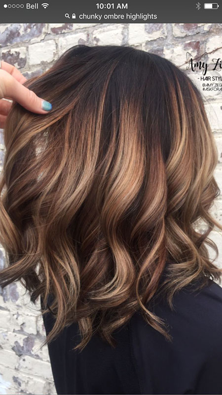 Balayage Hair Color Caramel