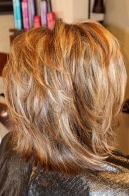 Layered Short Hair Haircuts