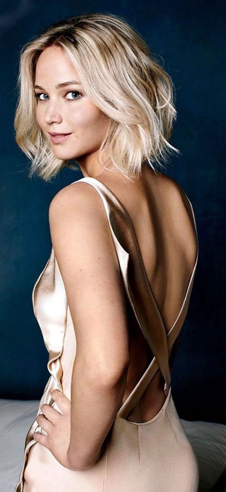Jennifer Lawrence Bob Hair, Lawrence Jennifer Haircuts Bob