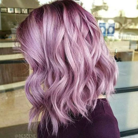 Hair Color Purple Lavender