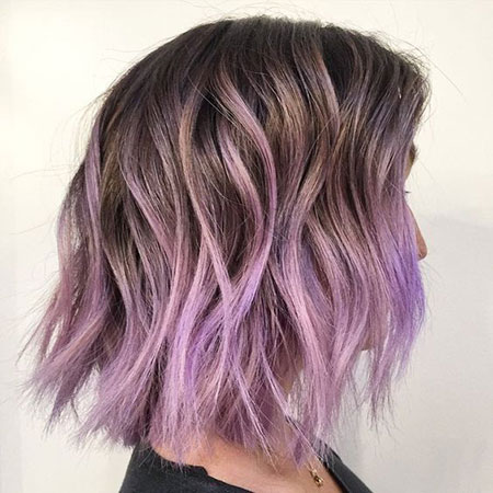 Hair Color Purple Ombre