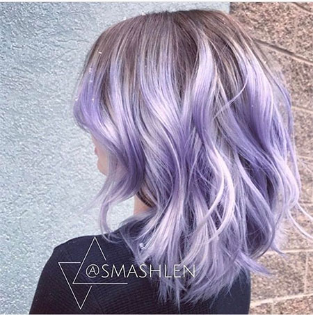 Purple Hair Color Pastel