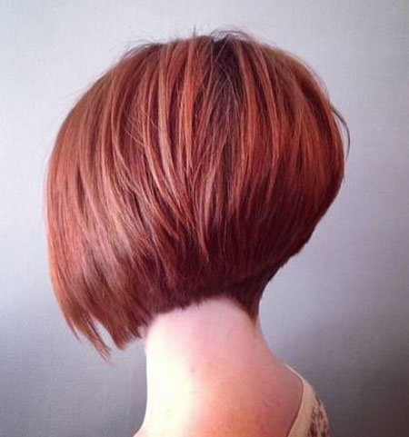 Bob Inverted Stacked Haircuts