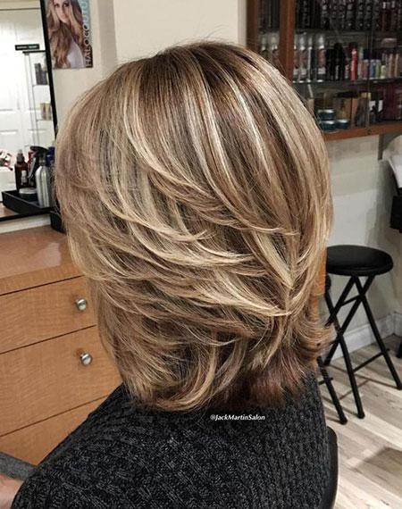 Brown Blonde Hair, Brown Blonde Layered Hairtyles