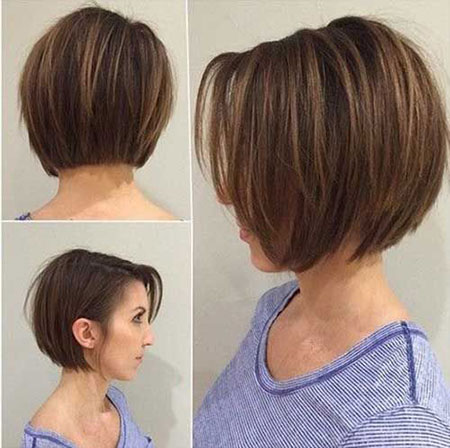 Brown Hair, Short Hair Bob Haircuts