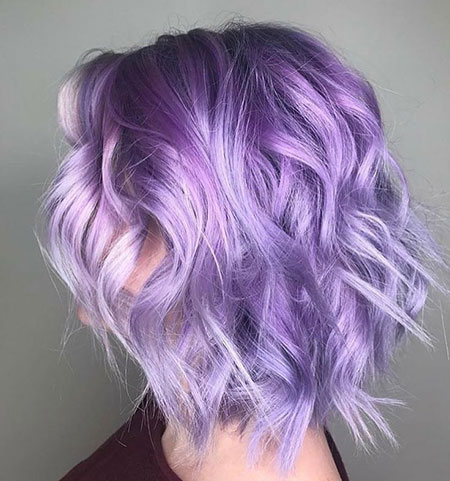 Pastel Hair Color, Purple Hair Lavender Lilac