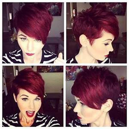 Pixie Hair, Pixie Short Brown Layered
