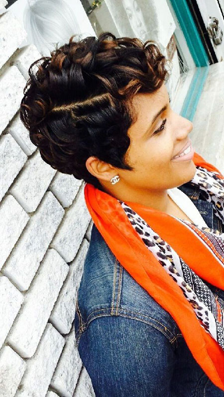 Cute Hair, Short Black Women Hair