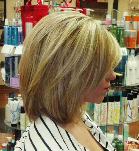 Layered Blonde Bob, Layered Bob Haircuts Hairtyles