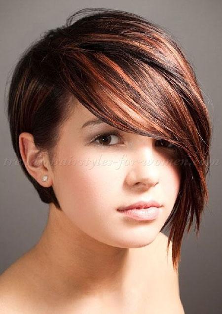 Balayage Hair Color, Short Bob Haircuts Hairtyle