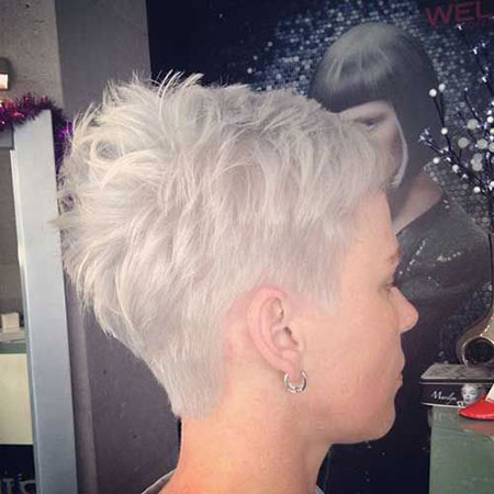 Pixie Hair, Short 50 Over Women
