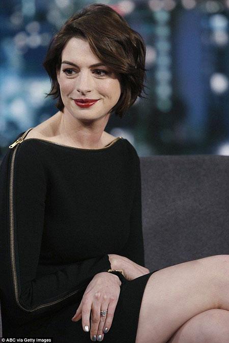 Anne Hathaway 2018 Bob