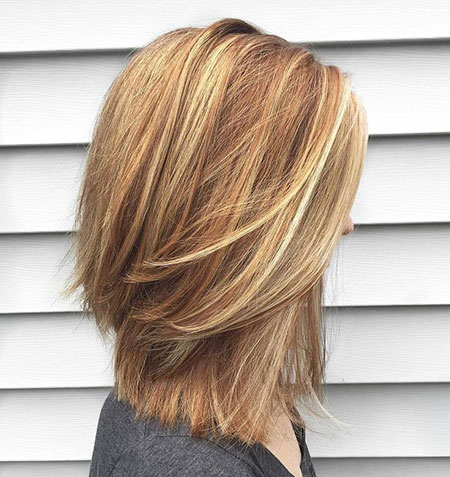 Bob Thick Balayage Blonde