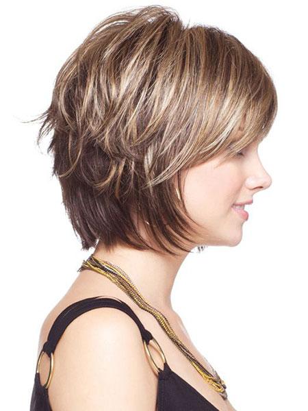 Short Hair Female Layered