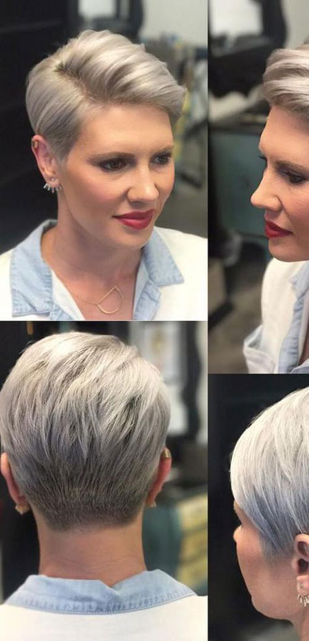 hair styles for women short hair 18 haircuts for 40 hairstyles 3342 | 7 Side Part Pixie Haircut 550
