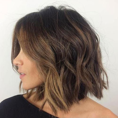 Length Balayage Hair Layered