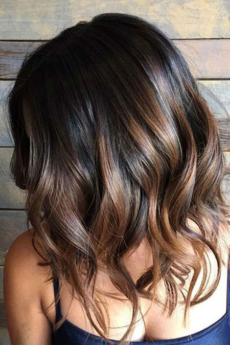 Balayage Hair Brown Caramel