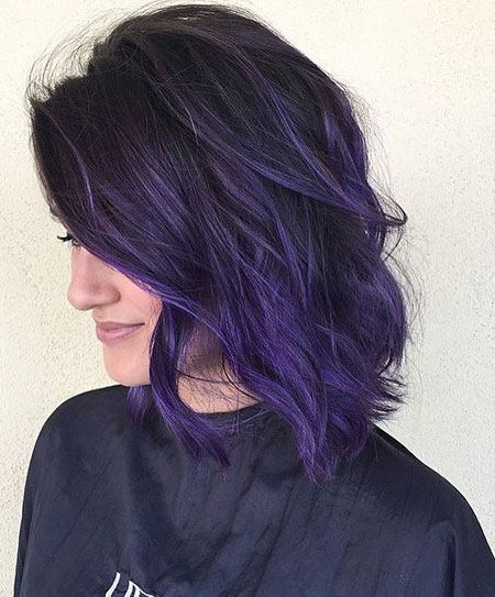 Purple Hair Color Dark