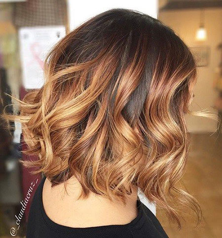Brown Blonde Balayage Ombre