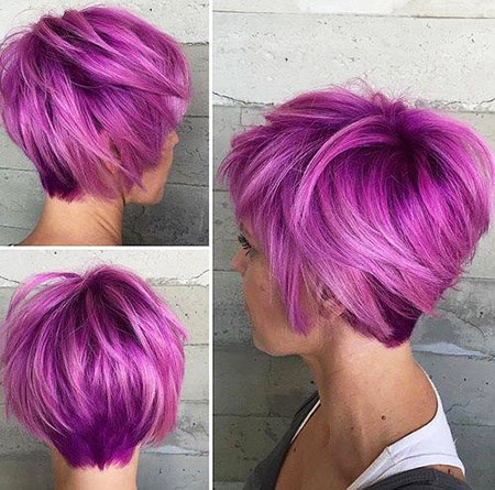 Short Hairtyle for Women with Thick Hair, Short Hair Bob Thick