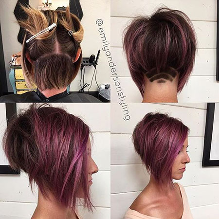 Hair Short Shaved Color