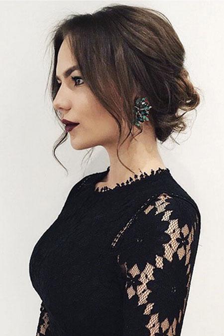 Updo Hairtyle for Short Hair, Hair Hairtyles Selena 20