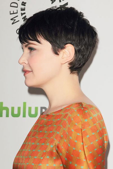 Pixie Short Hair Back