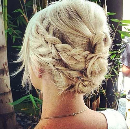 Hair Short Updos Braids