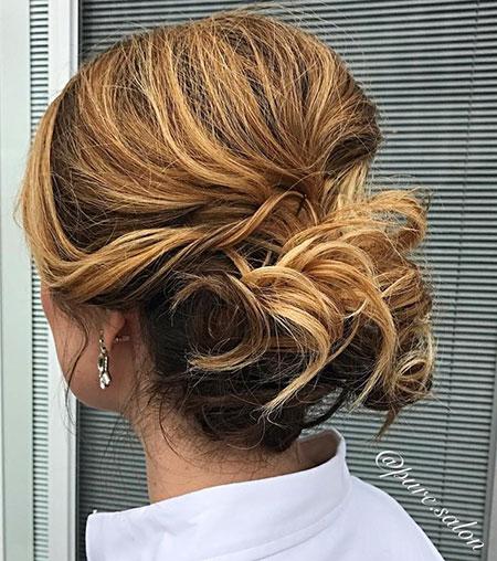 Hair Updo Chignon 60