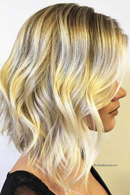 Blonde Hair Long Balayage