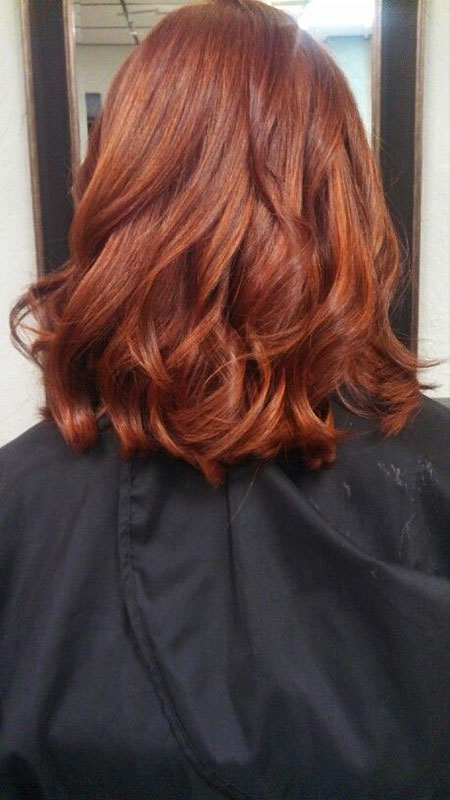 Hair Color Red Highlights