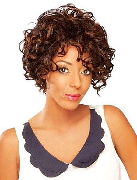 Curly Short Hair 40