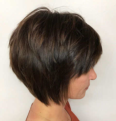 Bob Short Hair Feathered