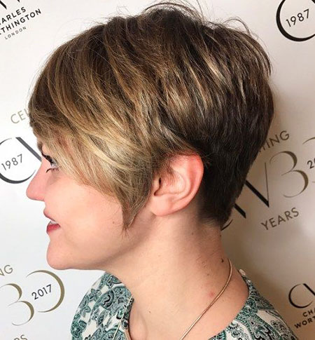 Layered Pixie Short Hairtyle