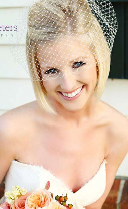 Veil Bridal Wedding Short
