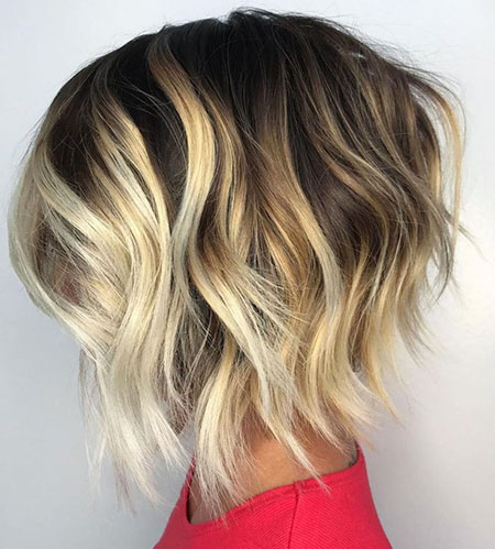 Blonde Chunky Balayage Highlights